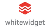 white widget logo