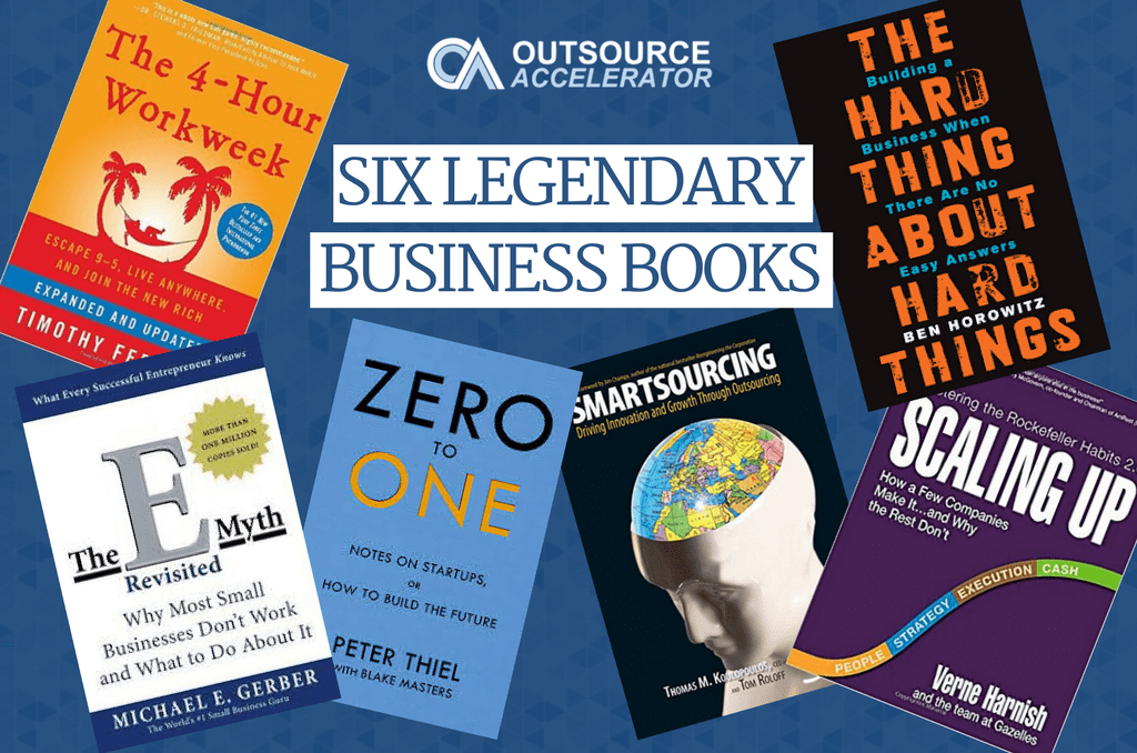 Six Legendary Business Books