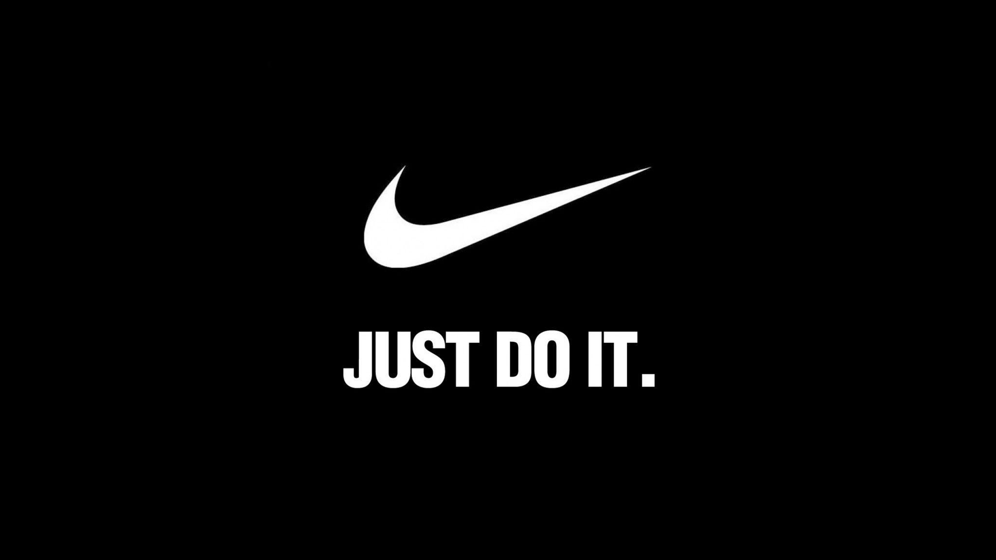 Nike Logo and Tagline