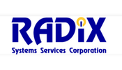 radix systems services corporation logo