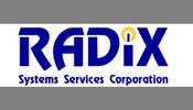 radix systems services corporation logo