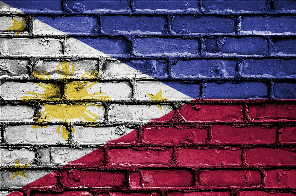 PH flag in wall
