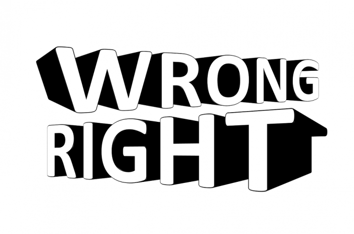 Wrong and Right