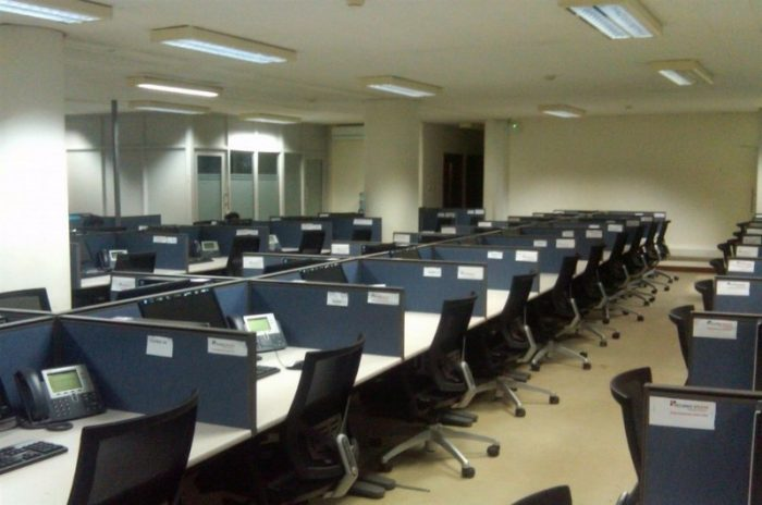 bpo work place empty