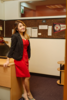 Sophi in office