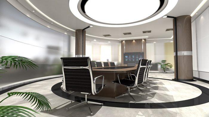 Corporate Board meeting room