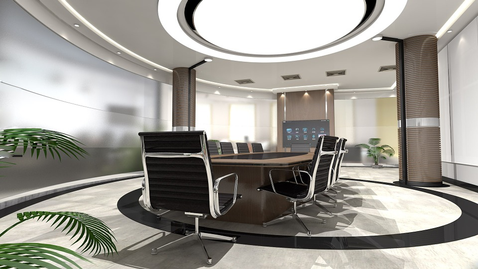 Corporate Board meeting room