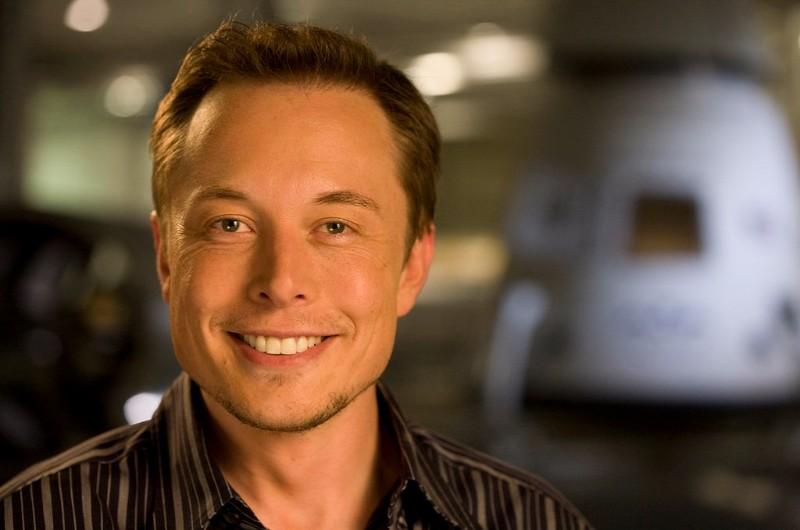 Elon Musk Headshot