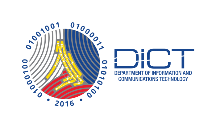 Official Logo of DICT