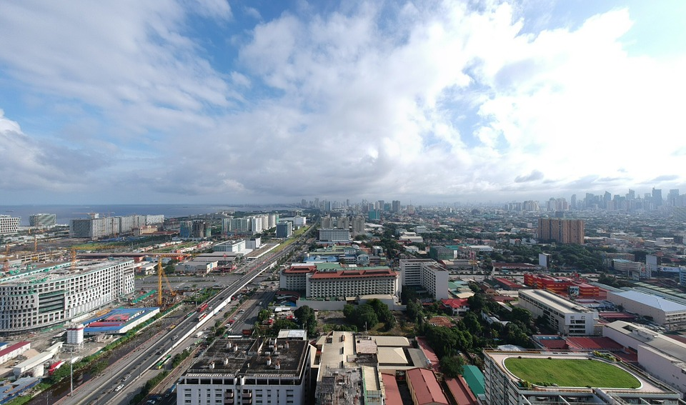 Manila Skyline Panorama