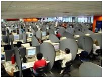 BPO work place