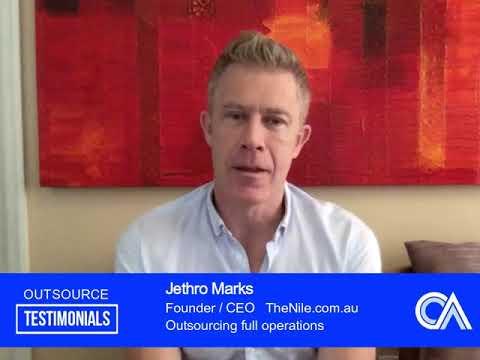 Outsource Testimonial - Jethro Marks of TheNile