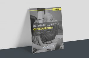 Ultimate Guide to Outsourcing Cover