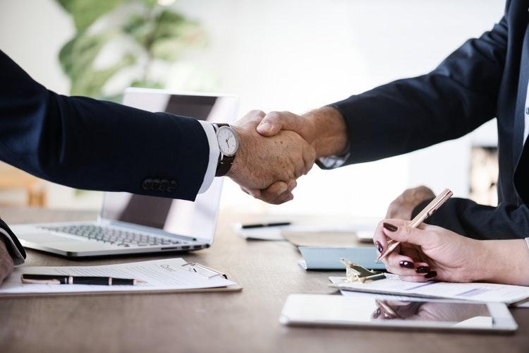 business hand shake 2