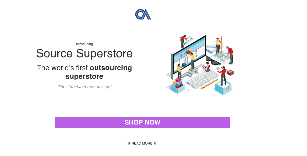 Outsource Accelerator Source Superstore