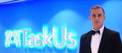 TaskUs sign
