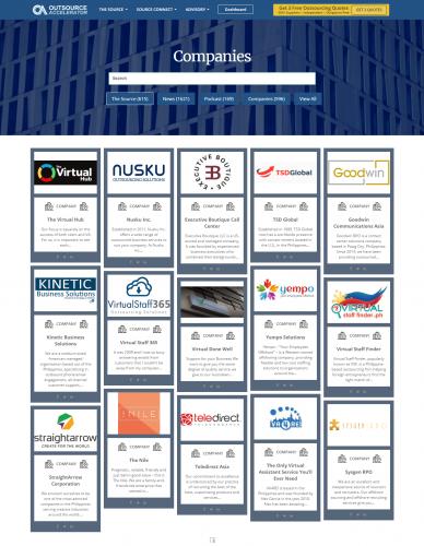 outsource accelerator 600+ BPO companies