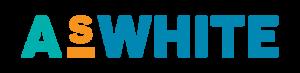 ASWhite logo