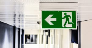 go left sign