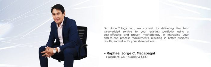 Raffy Macapagal - The inception of Ascentology Group