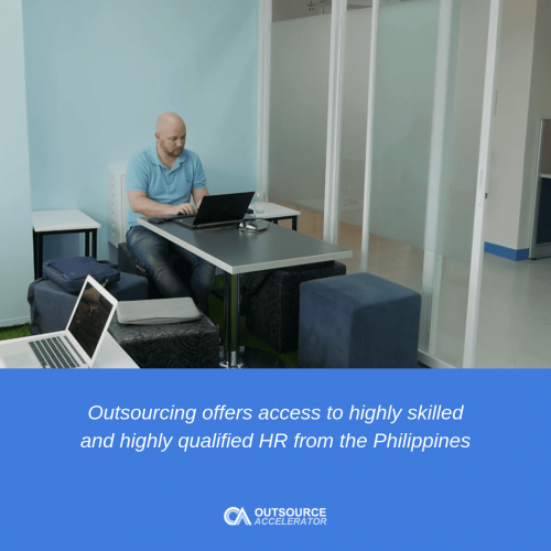 Services typically offered when outsourcing HR 2