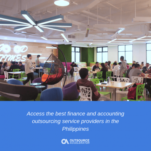 Typical cost of outsourcing finance and accounting services