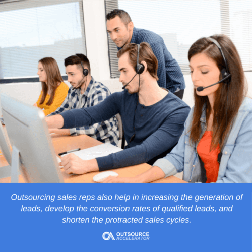 5 Significant advantages of outsourcing sales reps