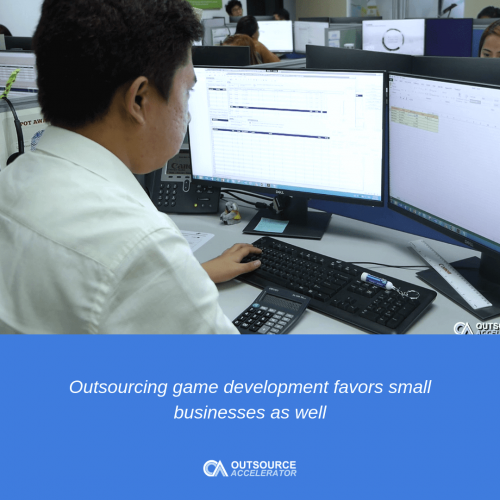 How game development outsourcing improves its industry