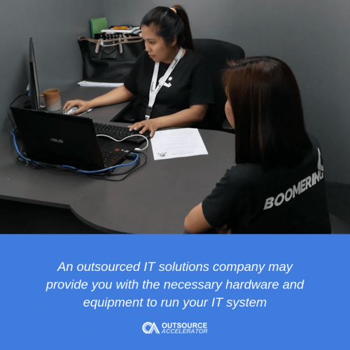 IT security outsourcing services Managed or hosted