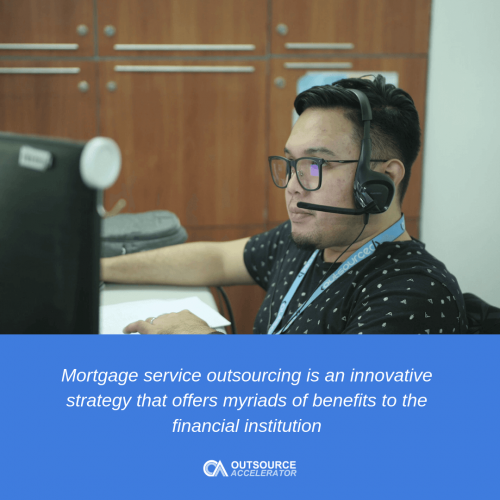 Key benefits of mortgage service outsourcing to banks