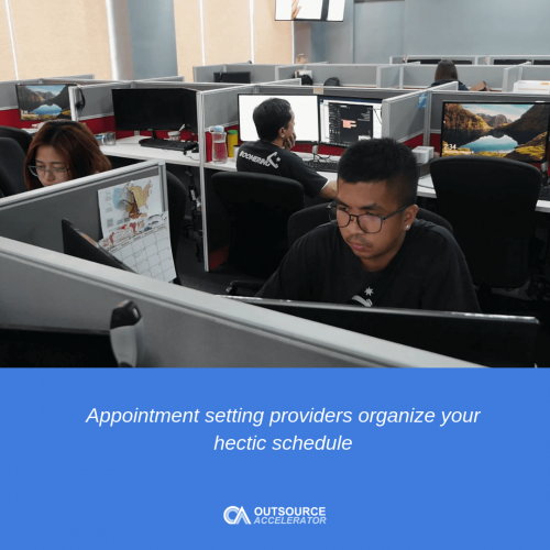 Outsource appointment setting for investment brokers