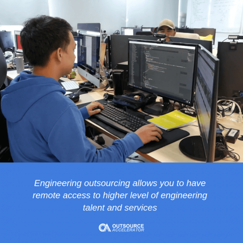 Outsourcing electrical engineering services