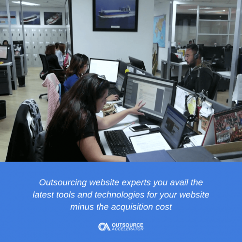 Outsourcing website design is vital for your business