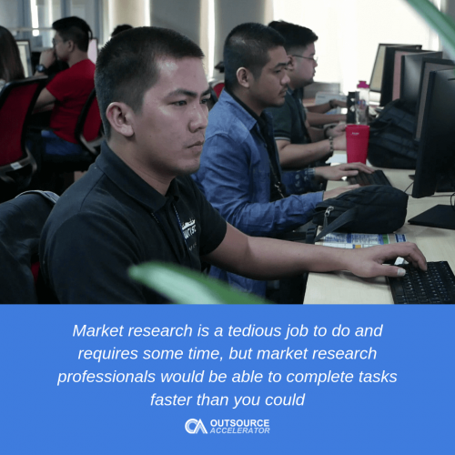 Perks of outsourcing market research