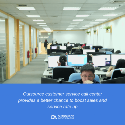 Customer service call center practices outsourcing can improve