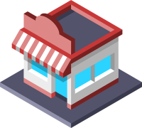 shop isometric