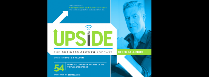 Business growth podcast header