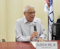 DICT Acting Secretary Eliseo M. Rio Jr. rolling out free Wi-Fi services
