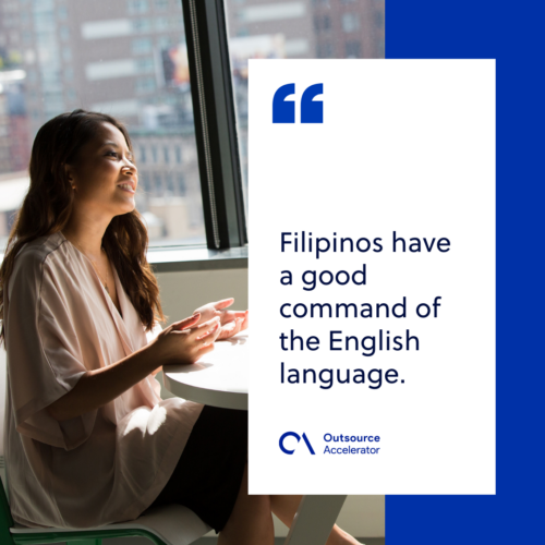 What are the Accounts that BPO Companies have in the Philippines
