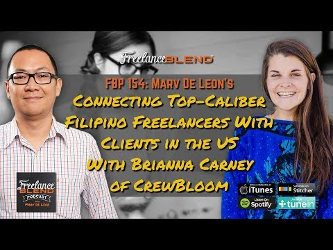 Connecting Top-Caliber Filipino Freelancers with Client in the US Brianna Carney FBP 154