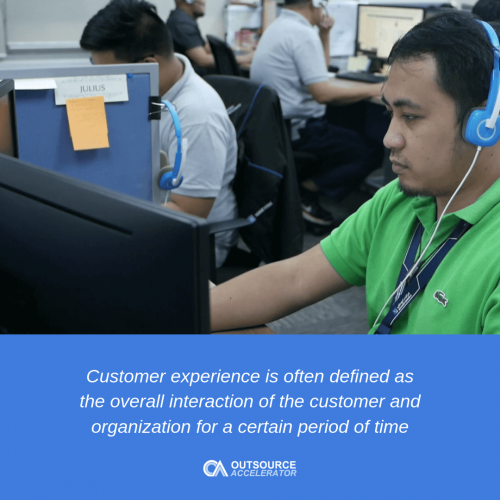 Customer experience outsourcing