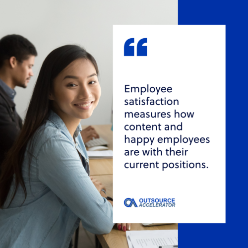 Employee satisfaction and outsourcing