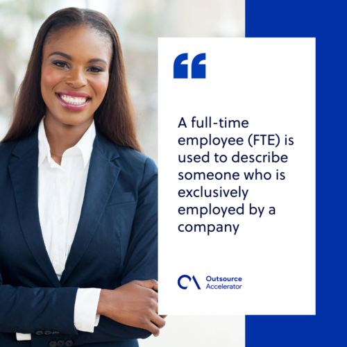 Outsourcing full-time