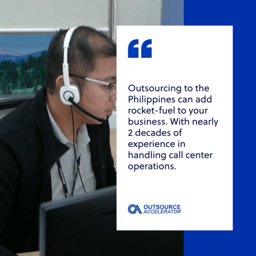 Hire a call center in other leading outsourcing destinations