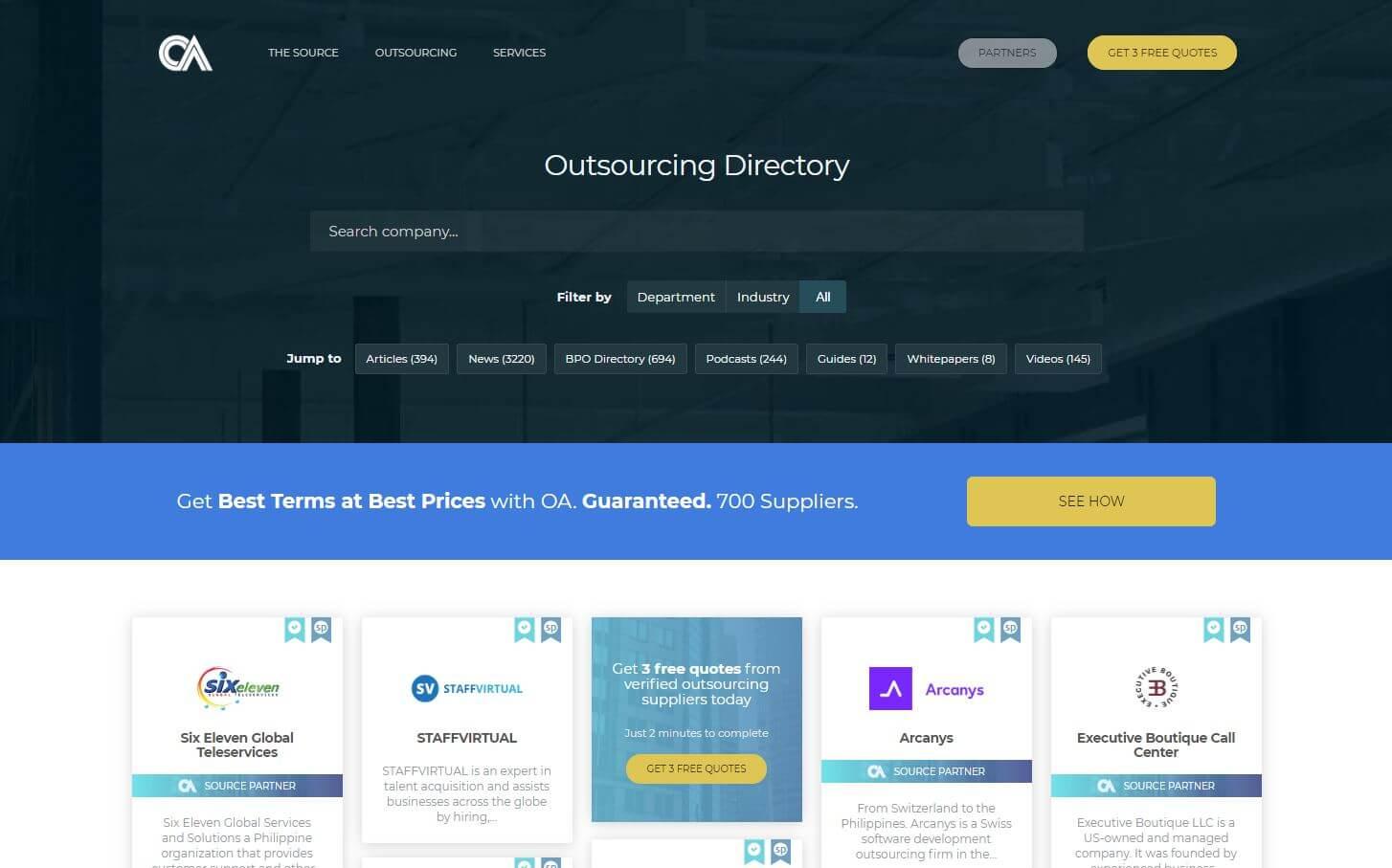 BPO Directory   Outsource Accelerator