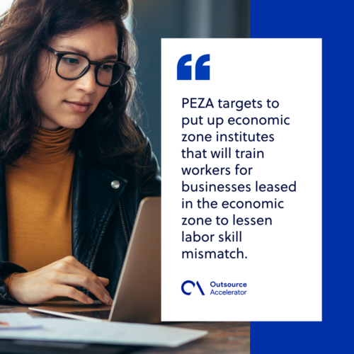 PEZA inc entives, requirements and locations 3