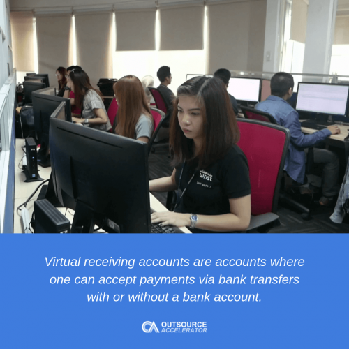 Virtual Receiving Accounts