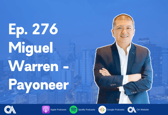 Miguel Warren of Payoneer - International payments made easy