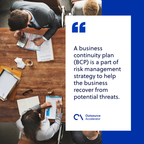 What is a business continuity plan (BCP)?