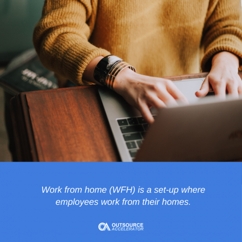 What is work from home (WFH)